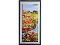Набор для вышивки картины Время года - Осень 40х20см 372-37010766