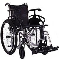 Инвалидная коляска универсальная OSD Millenium ІІІ (STC - хром) +насос
