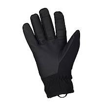 Зимние перчатки Soft Shell Thinsulate чёрные, фото 3