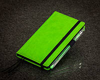 Блокнот с черной бумагой Зеленое Яблоко мини 152-15111081