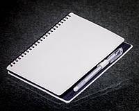Блокнот с черной бумагой Белый на пружине 152-15111166, фото 1