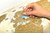 Скретч карта мира Scratch World Map на русском языке 185-18411277