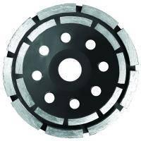 Круг алмазный сегментный шлифовальный (чашечный, 2 ряда) Sigma ?115мм (1912121)