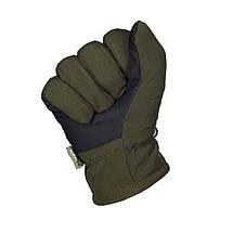 Зимние перчатки Soft Shell Thinsulate оливковые, фото 3
