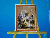 Картина на холсте по номерам Корзинка 57-5412556