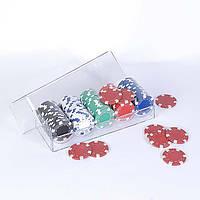 Фишки для покера, 100 шт 115-10812710