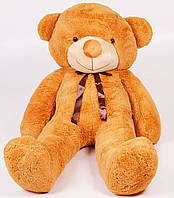 Плюшевый медведь Тедди 200 см Карамельный 196-19112835