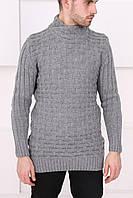 Мужской серый свитер