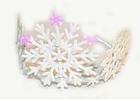 Красивый обруч для волос Снежинка для девочки