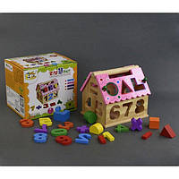 Деревянная игра Дом-Логика 0563