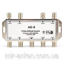 Комутатор DiSEqC 8х1 Alphabox AD-8