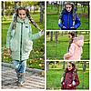 Дитяча зимова куртка - пальто з хутряними кишенями 315 LK