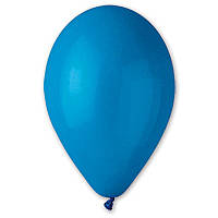 """Воздушные шарики """"Пастель синие 10""""  100 шт."""
