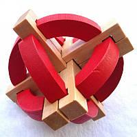 Головоломка деревянный Шар 202-19813776