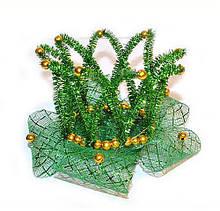 Новогодняя Корона для девочки зеленая