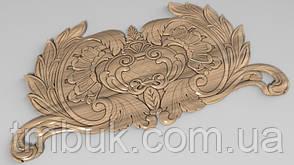 Горизонтальный декор 51 деревянная накладка - 300х150 мм, фото 2