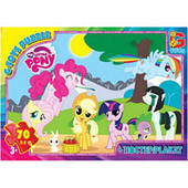 Пазл из серии My little Pony G-Toys 9 видов