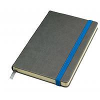 Бизнес-блокнот Fancy на синей на резинке 152-15114810