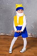 Детский новогодний костюм для мальчика Гном