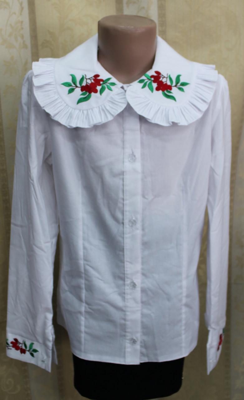 Блузка Школьная Для Девочки Купить