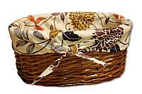 Плетеная корзинка Цветы 103-10214946