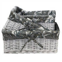 Плетеная корзинка Узоры 103-10215038