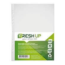 Файл Fresh Up А4+ прозрачный 30 мкм 100 шт Арт. FR-2030