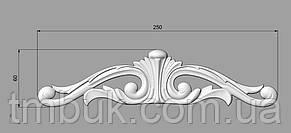 Горизонтальный декор 55 - 250х60 мм, фото 2