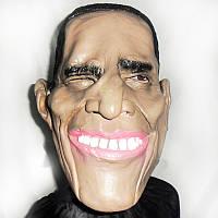 Карнавальная маска латексная Обама 184-16181