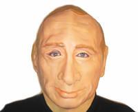 Карнавальная маска резиновая Путин 184-16200