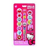 Часы детские Hello Kitty с набором сменных панелей HKRJ15