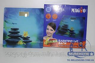 MAGIO весы напольные электронные 150 кг.(стеклянные) MG-316
