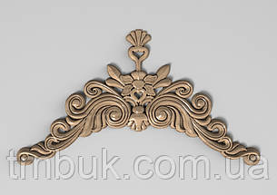 Горизонтальный декор 61 деревянная накладка - 250х140 мм, фото 2
