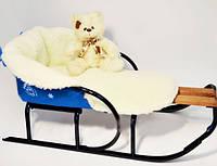 Матрасик для санок на овчине Пупсик 356-19016451