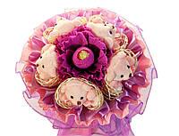 Букет из игрушек Мишки и конфетка 229-18416722