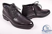 Ботинки мужские из натуральной кожи на меху Jiansha SM1772-305 Размер:40,41