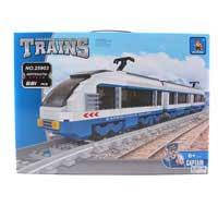 Конструктор AUSINI 25903 (6шт) поезд, фигурки 4шт, 681дет, в кор-ке, 49-38-7см