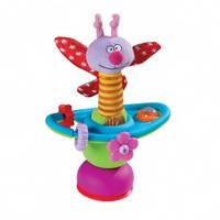 Игрушка на присоске - ЦВЕТОЧНАЯ КАРУСЕЛЬ (в ассорт. бабочка и гусеничка) от Taf Toys - под заказ