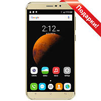 "➤Смартфон 5.5"" CUBOT Dinosaur 3GB+16GB Золотистый 4 ядра емкая батарея 4150 mAh Android 6"