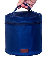 Круглый органайзер для косметики Синий 106-10217310