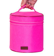 Круглый органайзер для косметики Розовый 106-10217311