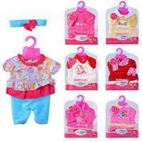 Одежда для пупса Baby born летняя (7 видов)