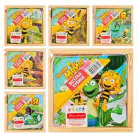 Деревянная игрушка Кубики Пчелка Майя GT 6288 6 видов
