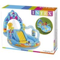 Игровой надувной центр замок Русалки Intex 57139