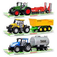 Трактор с прицепом 7011-3-7033-10-7022-6  3 вида