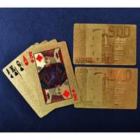 Игральные карты Золотое евро