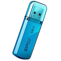 Флеш накопитель SILICON POWER 64GB Helios 101 Blue (SP064GBUF2101V1B)