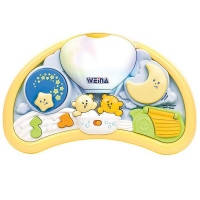 Ночник на кроватку Мишка Weina 2147