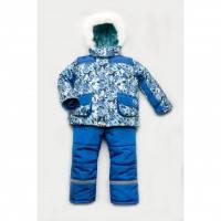 Зимний костюм для мальчика Модный карапуз Geometry