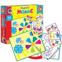 Магнитная мозаика и доска для рисования Vladi Toys VT3701-01